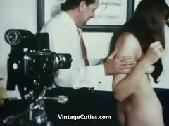 Extremely Hot Model gets Cheated (1960s Vintage)